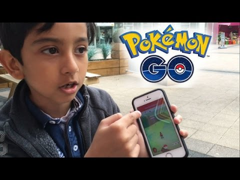 Pokemon Go - Playing in SOLIHULL!