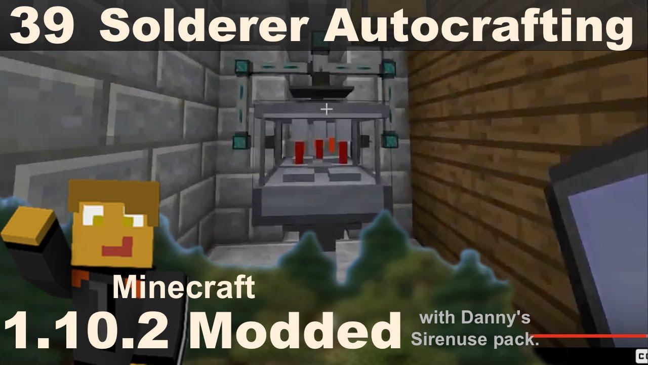 Modded 1 10 2 - E39 - Solderer Autocrafting - Refined Storage