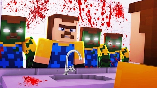 Minecraft - HELLO NEIGHBOR - ZOMBIE APOCALYPSE!