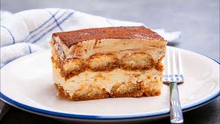 Italian Tiramisu cake Recipe (Eggless) Easy Tiramisu In 10 Minutes | No-Bake Desserts | Tiramisu
