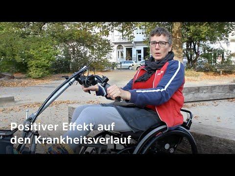 Wenig Bewegung im Rollstuhl ist ungesund - dynamisches Sitzen bringt die Lösung (Krankheitsverlauf)