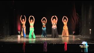 Belly Dance Student Performance - Fleur Estelle Dance School