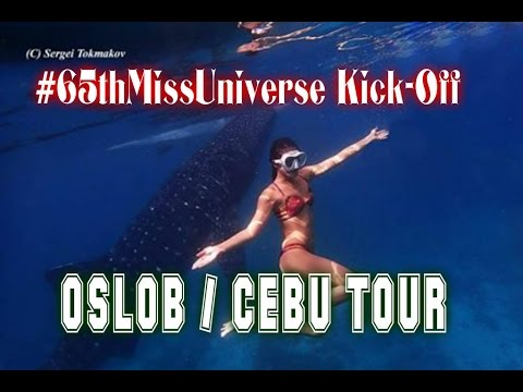 CEBU TOUR   65th Miss Universe Kick-Off