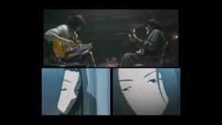 BECK anime & live action - Ryusuke ft Jhon Lee Davis (Blues Scene)