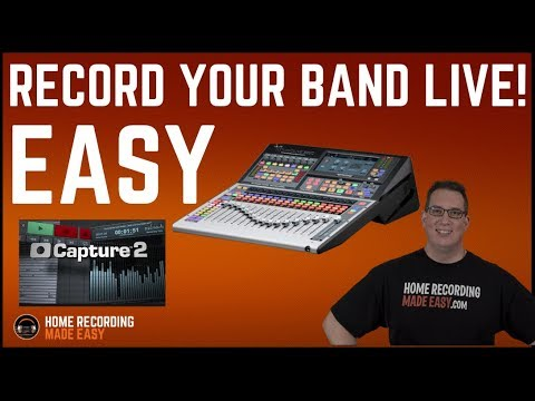 Presonus Studio Live, Capture and Studio One - HOW TO USE