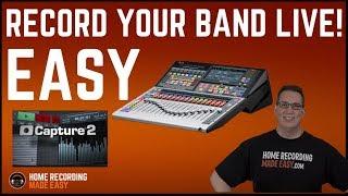 Presonus Studio Live, Capture and Studio One - HOW TO USE