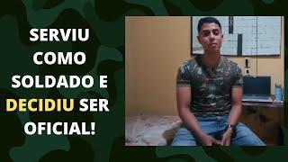 Depoimento do aluno Gabriel Cavalcante, futuro aprovado na EsPCEX