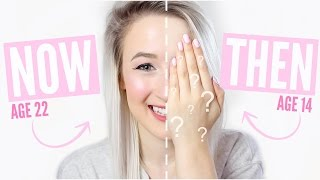 My Makeup THEN vs NOW | Sophie Louise
