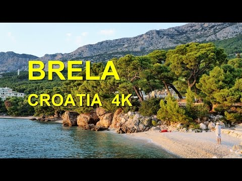 Brela Croatia (4K Ultra HD)