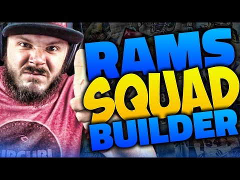 ALL-TIME LOS ANGELES RAMS SQUAD BUILDER & GAMEPLAY | MADDEN 16 ULTIMATE TEAM