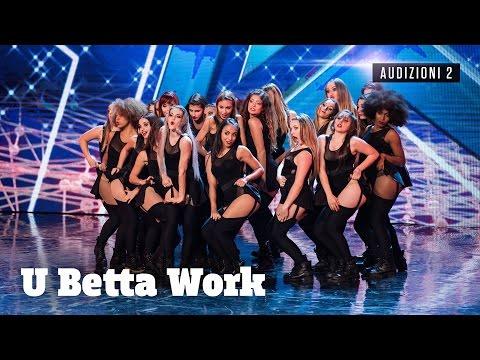 U Betta work: la sexy crew che infiamma il palco