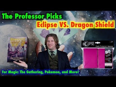 Ultra Pro Eclipse VS Dragon Shield Matte - The Top 2 Best Card Sleeves For Magic: The Gathering