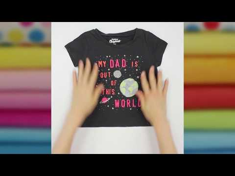 Quick Tip Video: Tellerrock Kleid aus Kinder-T-Shirt nähen | kullaloo