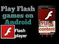 How To Play Web/Online/Flash Games On Android/Ios Phone