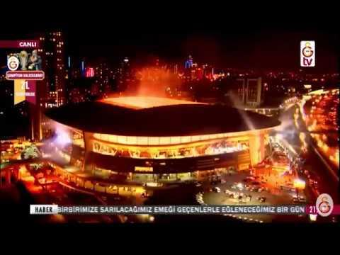 Spor Toto Süper Lig 2017-2018 Sezonu Şampiyonluk Kupa Töreni - Şampiyon GALATASARAY