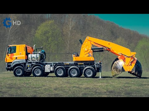 The Craziest Trucks and Machinery that you probably didn't know ▶  Tree Transplanter Truck