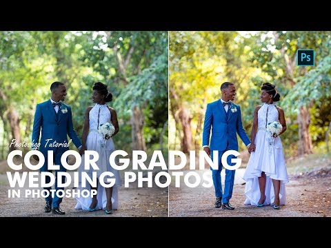Photoshop Tutorial -  Color Grading Wedding Photos In Photoshop thumbnail