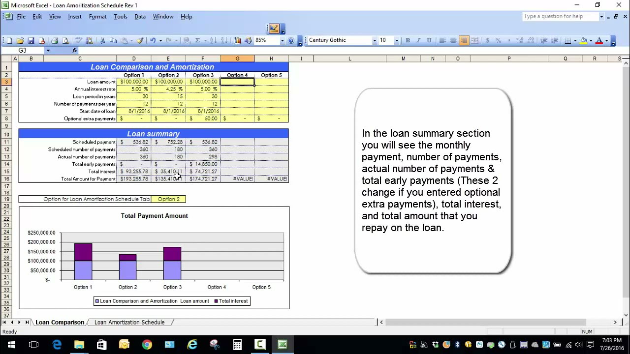 Excel loan amortization template youtube maxwellsz