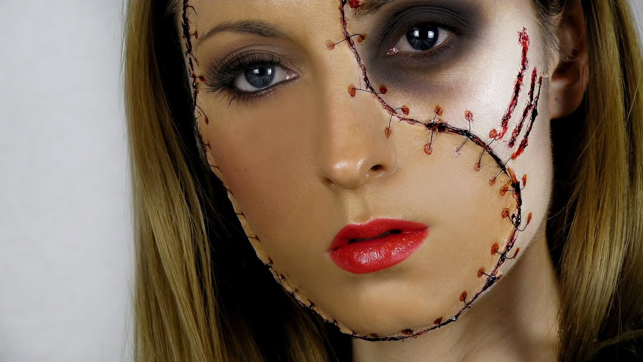 Beautiful Simple Girl Wallpaper Fx Makeup Series Glamorous Zombie Youtube