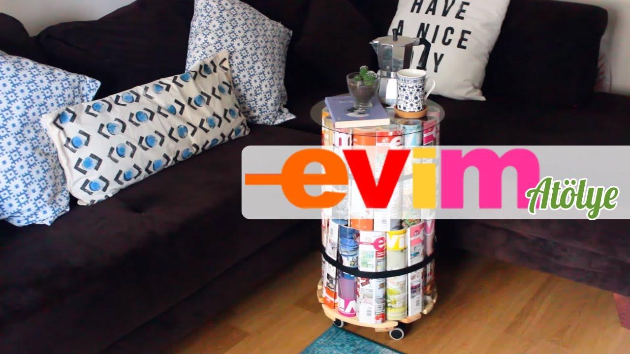 Karton ile yapılabilecek dekorasyon fikirleri