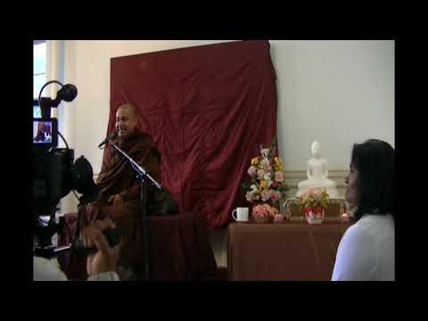 Dhamma Sermon (Staten Island ,New York  ) - Most Ven Bambalapitiye Gnanaloka Thero