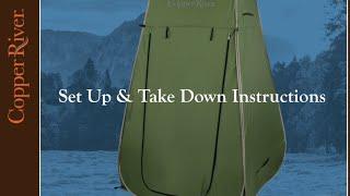 Copper River Fold-A-Privy | Camp Cabela's