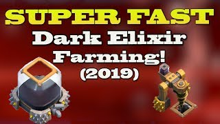 *SUPER FAST* TH11 DARK ELIXIR FARMING (2019) | Best Farming Strategy Clash of Clans | Lets Play TH11