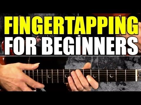 Basics from guitar guitar hottest instruction lick tapping trick