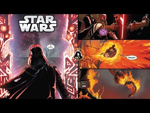VADER FIGHTS MOMIN AND ENTERS THE PORTAL FOR PADME - Star Wars Theory COMICS