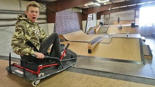 MINI DRIFT CAR VS SKATEPARK!