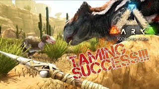 ARK: Scorched Earth - TAMING A MORELLATOPS | Scorched Earth Gameplay [5]