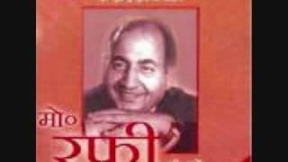 Rare Rafi old song film aadhi Raat year 1950 Rafi Sahab and Lata song