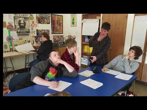 Turning Points Residency at Casman Alternative Academy with Story Be Told, Jenifer Strauss