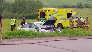 Accident St-Aubert 15 aout 2018
