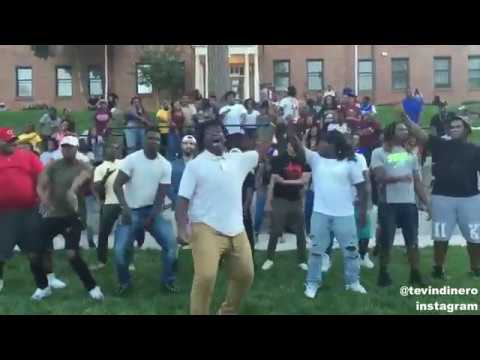 Put some Respek on My Name 'Hit The Freak Dance' NCCU College
