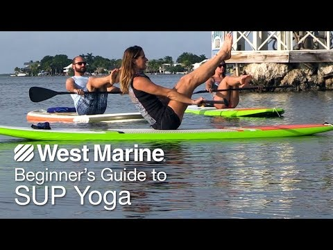 Beginner's Guide to Stand-Up Paddleboard Yoga with Seychelle