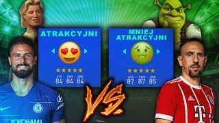 ATRAKCYJNI vs  MNIEJ ATRAKYCJNI | FIFA 19 EKSPERYMENT