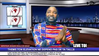 Serviteur Jacques kikala theme:ton elevation ne depend pas de ta taile