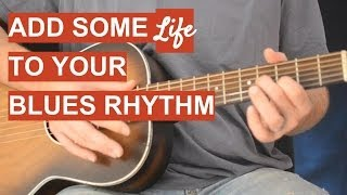 Easy to Learn Acoustic Blues Rhythm Technique for Finger Pickers   Brush Up