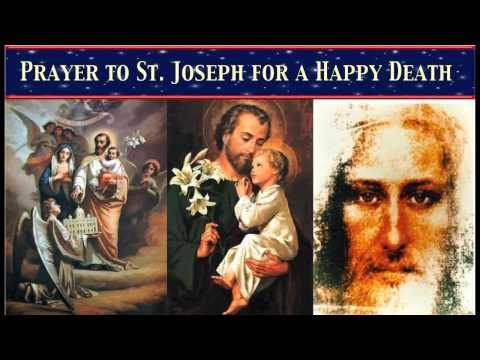 Prayer to St. Joseph for a Happy Death