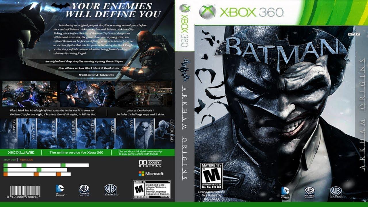 como instala Batman Arkham Origins xbox 360 rgh jtag mais dlc - YouTube 16ed6bcd569