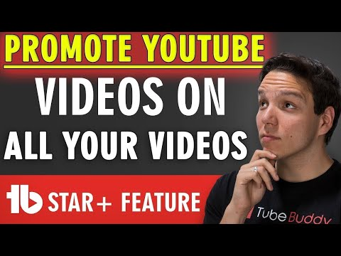 How to Promote YouTube videos on all of your videos FAST! 🔥
