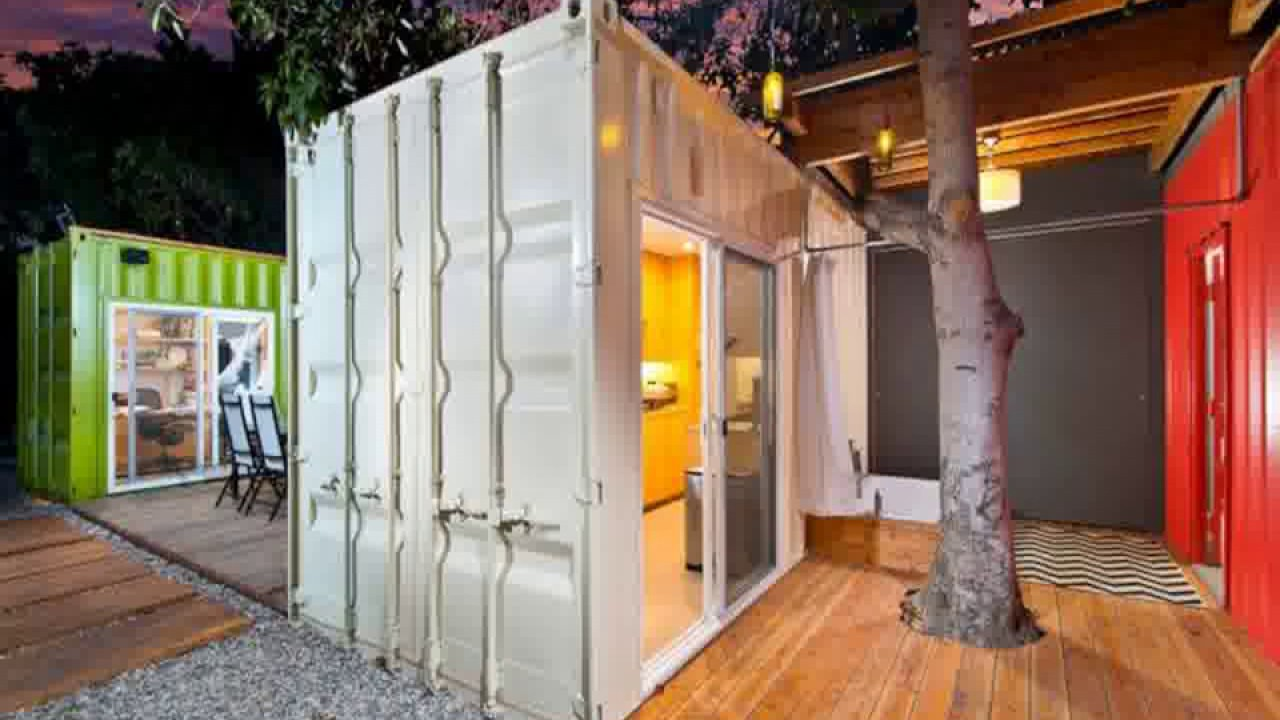 shipping container home builders los angeles - YouTube