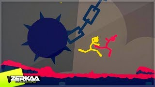 THE SPIKED BALL OF DEATH! (Stick Fight)
