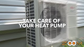 How to maintain your heat pump