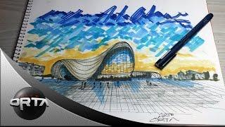 como dibujar una fachada - Arte Orta