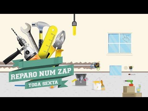 Como fazer pequenos reparos e instalações em casa - Reparo num ZAP