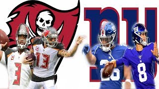Tampa Bay Bucs vs New York Giants week 3 preview and prediction! Daniel Jones Debut!