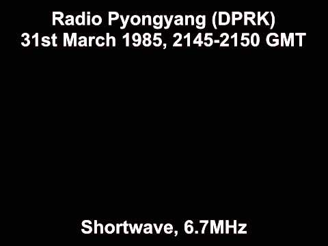 Radio Pyongyang (DPRK) 31st March 1985