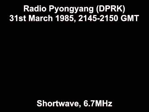 Radio Pyongyang (DPRK) 31st March 1985